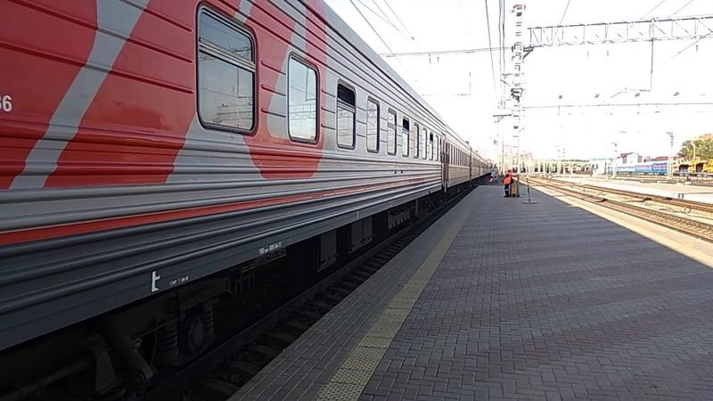 ЭП2К 068 с поездом 091 Северобайкальск Москва
