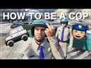 How to be a Cop in GTA V GTA V Gameplay