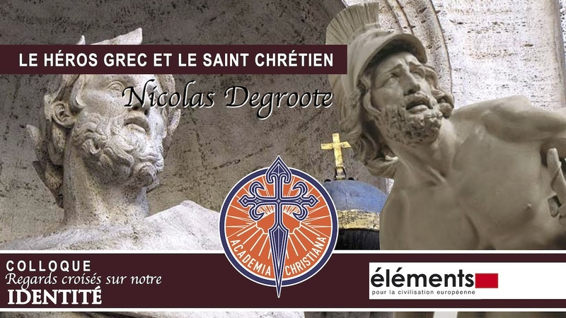 Nicolas Degroote - Le héros grec et le saint chrétien