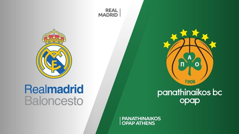Real Madrid - Panathinaikos OPAP Athens Highlights | Turkish Airlines EuroLeague PO Game 2. Евролига, второй матч плей-офф. Обзор. Реал - Панатинаикос