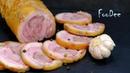 Ветчина из свиной рульки – Какая же она ВКУСНАЯ и ароматная! Простой рецепт