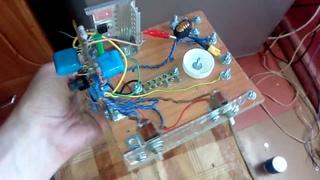 Конструктив для быстрой установки / смены индуктора, вв резонатора и терминала. Электронника крупно