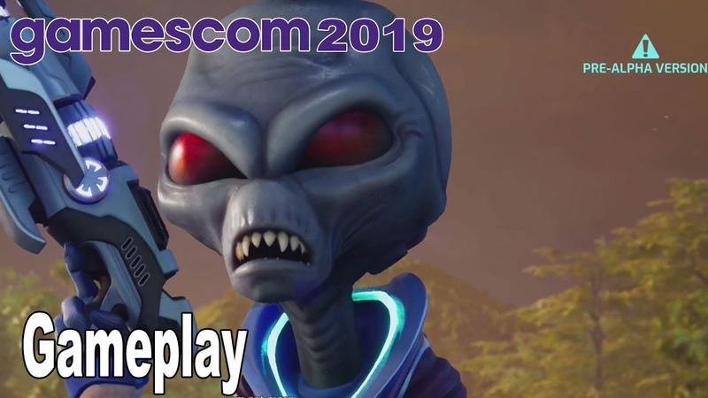 Destroy All Humans! Remake - Gameplay Demo Gamescom 2019 [HD 1080P]