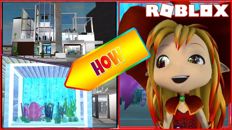 🏘️ House Tour and How to build a Fish Tank! Roblox Welcome to Bloxburg!