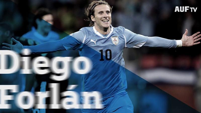 Диего Форлан объявил о завершении карьеры футболиста