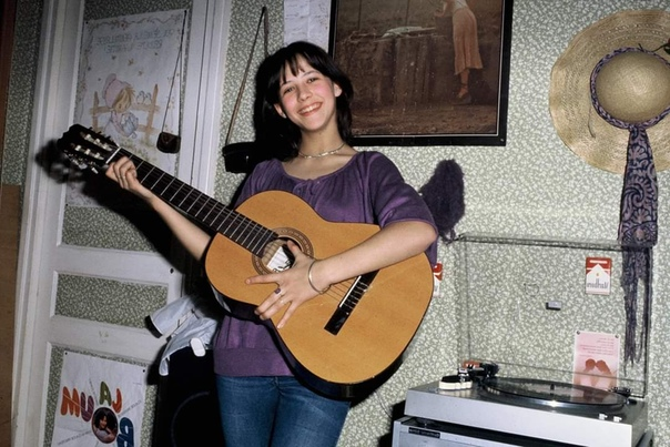 Софи Марсо (фотограф Francois Gaillard, 1981)