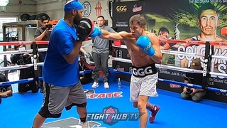 GENNADY GOLOVKIN SHOWS NEW SPEED; BIG IMPROVEMENTS ON THE MITTS W/NEW TRAINER JOHNATHON BANKS