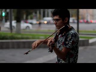 Кавер нирваны со скрипкой