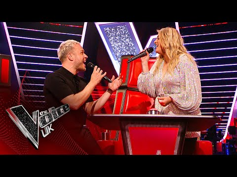 Meghan Trainor and Olly Murs' Surprise Duet Blind Auditions The Voice UK 2020