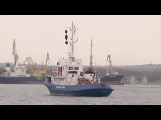 Стало известно, где передадут Украине три судна из Керчи