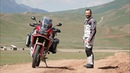 Honda Africa Twin True Adventure in Kyrgyzstan
