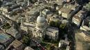 4K London aerial filming. River Thames, City of London, Shard shot in 4K