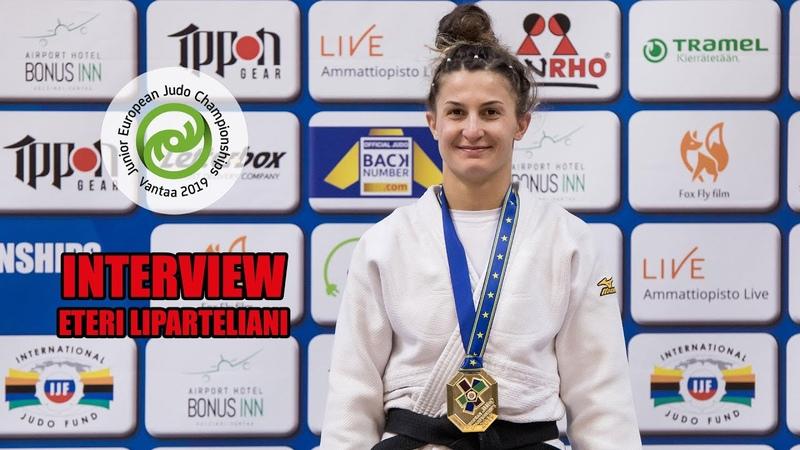 Junior European Judo Championships 2019 Vantaa Finland 🇫🇮 Eteri Liparteliani GEO