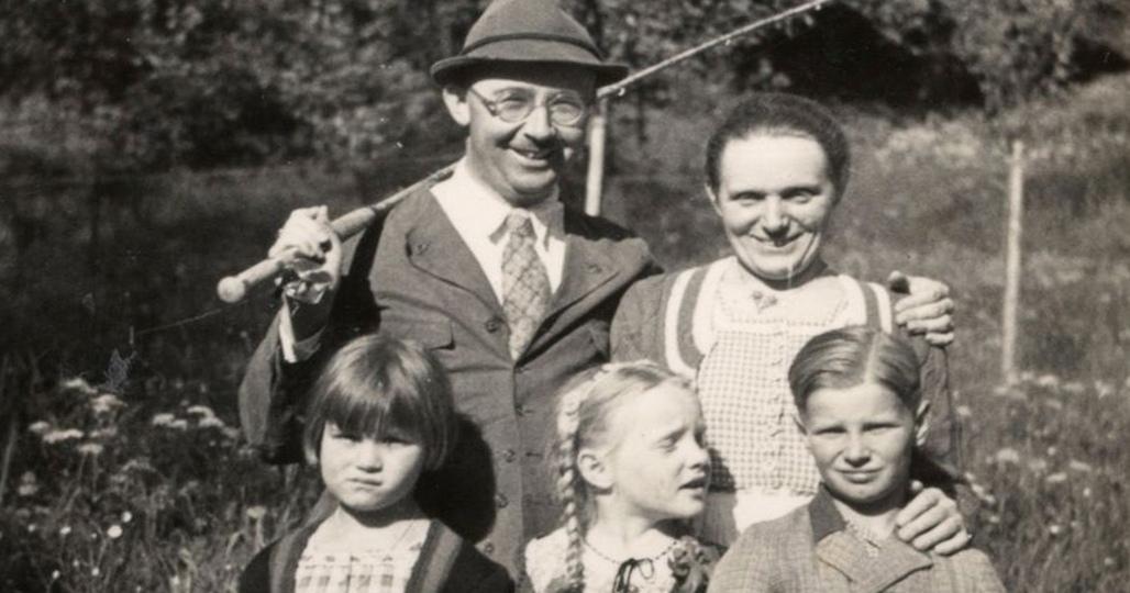 Гиммлер и семья