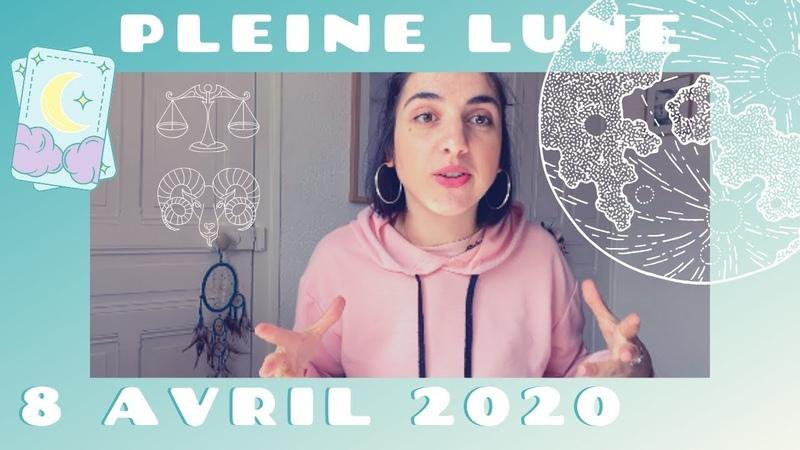 PLEINE LUNE 🌝 8 04 2020 ⚡️⚡️ Grande transformation