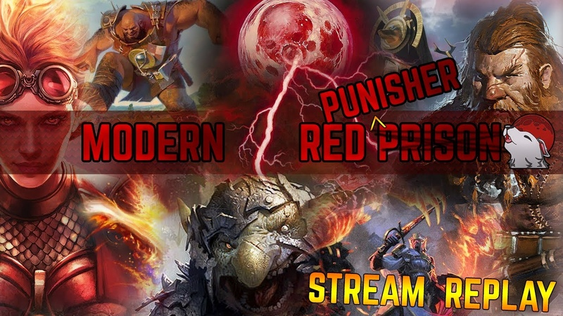 🔥 [Modern] Red Punisher 🔴 Goblins out for a Break, Misplays, and Terrible Lines - PUNT! (Part 2)