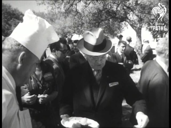 President Mateos Of Mexico Visits Usa (1959)