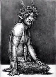 Сатиры. В греческой мифологии сатиры были рогатыми божествами дикой природы, следовавшие за богами Паном, Дионисом и Бахусом. У них были тело, руки и половые органы мужчины, а также раскосые