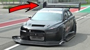Mitsubishi Lancer EVO X INSANE Time Attack Build with Sequential ONBOARD @ Monza Circuit