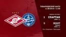 Спартак 2008 г р Зенит 1 0 3 3 вторые составы