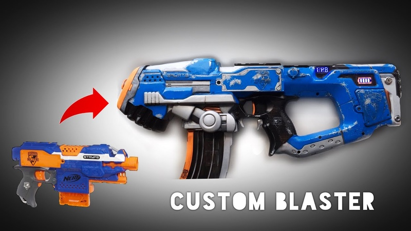 How to Mod and Paint a Nerf Blaster Stryfe Integration