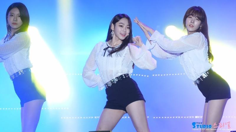 180526 구구단 '나같은애' 4K 강미나 직캠 gugudan Mina fancam A Girl Like Me 서원밸리 그린콘서트 by Spinel