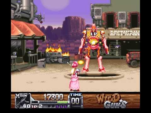 SNES Longplay [243] Wild Guns (a)