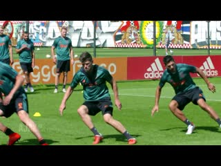 Training of Ajax players | FT