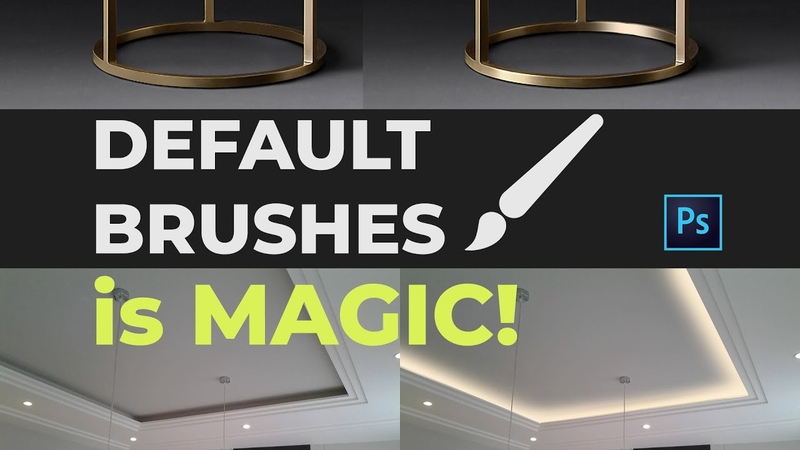 Do more with Default Brushes - Photoshop Tutorial