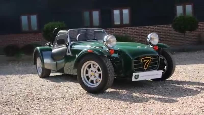 Caterham Seven 1 8 Manual Roadster in Green 1999