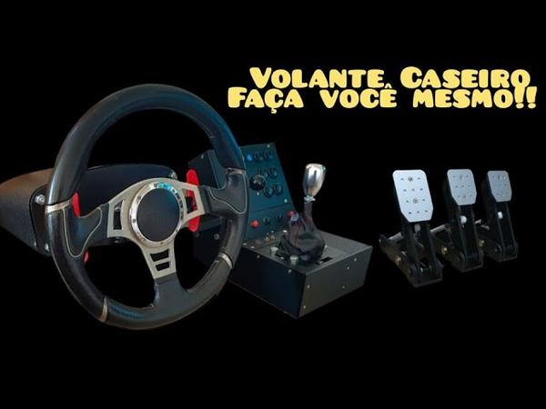 Como construir um Volante Caseiro 900° FFB Steering Wheel