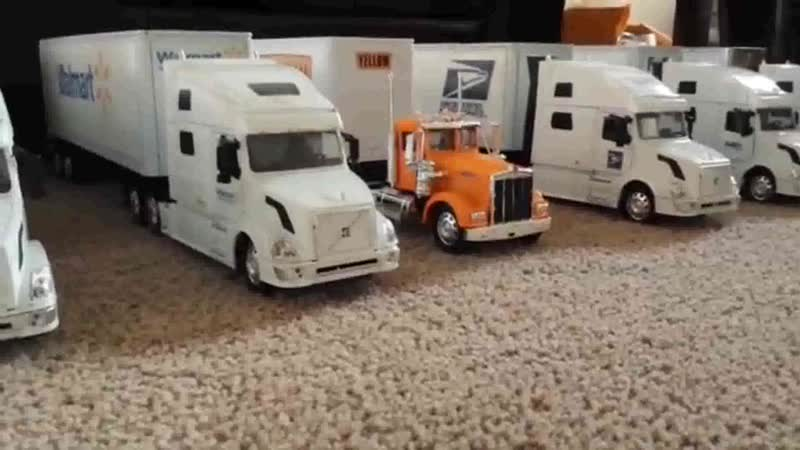 Bad Boys Blue Pretty Young Girl ft RC Models M1 32 scale customtrucks at loading dock 03 04