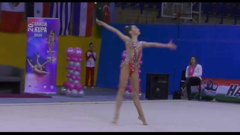 Нина Олифиренко Многоборье Скакалка Gracia Fair Cup 2020