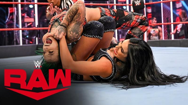 Ruby Riott vs Billie Kay Raw July 6 2020