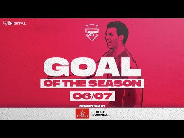 VAN PERSIE WITH A WORLDIE Arsenal Goals of the season 2005 06