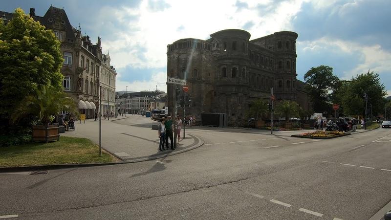 Walking in Trier ⛅   Germany - 4K60