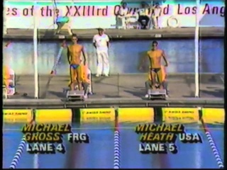1984 Olympic Games - Men's 200 Meter Freestyle