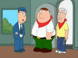 Family Guy - Peter Robs a Train