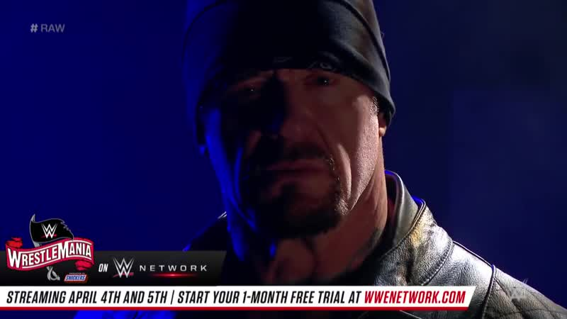 The Undertaker says AJ Styles' disrespect will cost him_ Raw, March 30, 2020