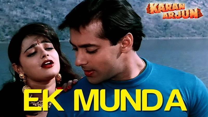 Ek Munda Video Song Karan Arjun Salman Khan Mamta Kulkarni Lata Mangeshkar