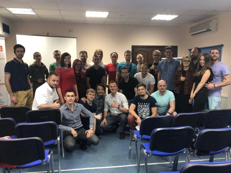 Максим Гончаренко и рабочая группа по проекту лидогенерации для недвижимости 2019 год.
