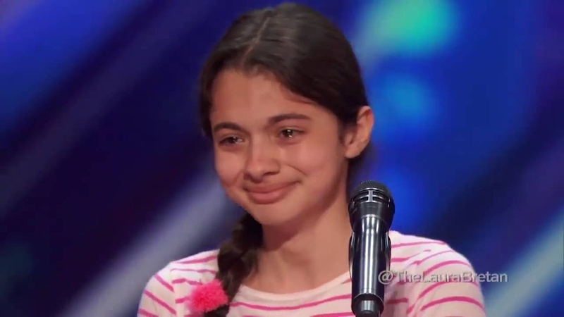 LAURA BRETAN 13 Year Old Opera Singer Americas Got Talent 2016 Auditions (@LAURABRETAN)