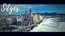 SITGES by drone VISIT SPAIN