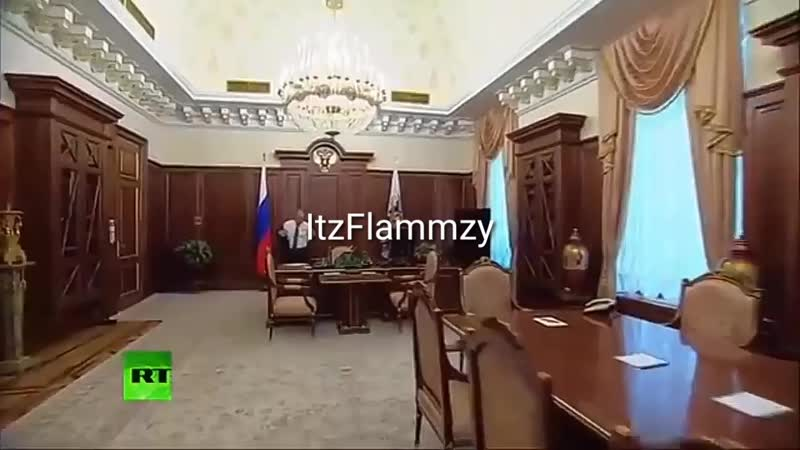 Wide Putin walking but he's always in frame full version 0 mp4
