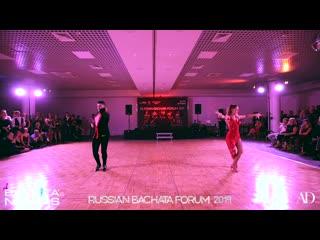 Alex alberola y laura   show   russian bachata forum 2019