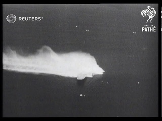 Test crash of a Boeing B-17 airplane in Florida (1947)