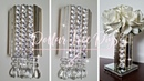 2 Unique DIYS using Dollar Tree Pic Frame Glam Decor Wall Sconce Flower Vase Candle Holder