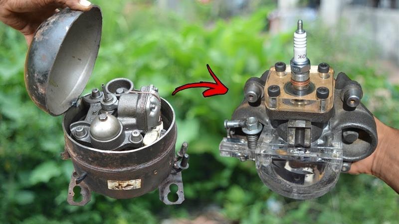 I turn Fridge Compressor into Working Engine
