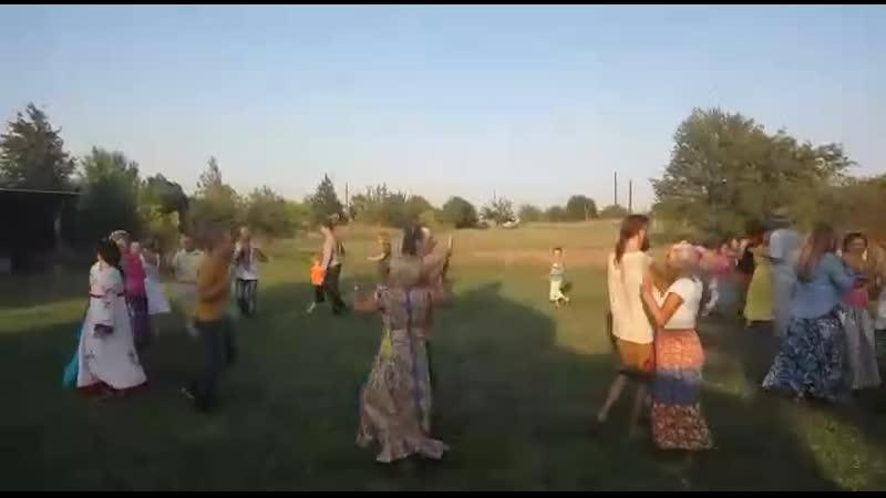 Хороводы в Ведруссии.