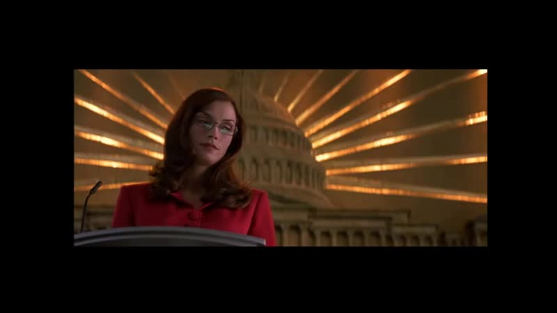 Jean Grey and Senator Kelly Discussing Mutants - X-Men (2000)